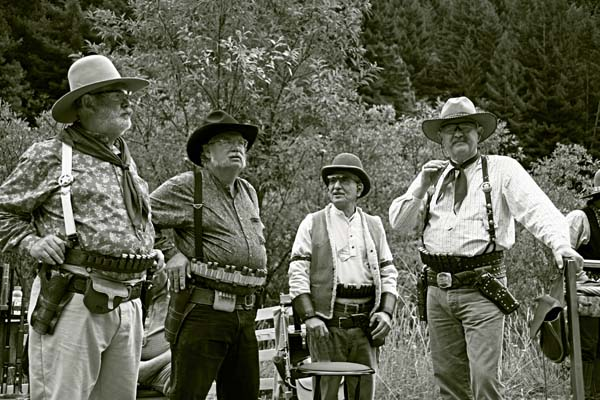 Cowboy Group Korbel, California. Black and White Photos, Page 1
